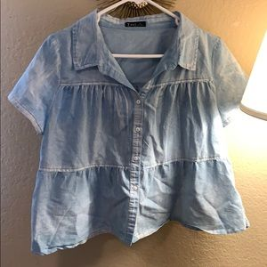 ROOLEE Light blue top
